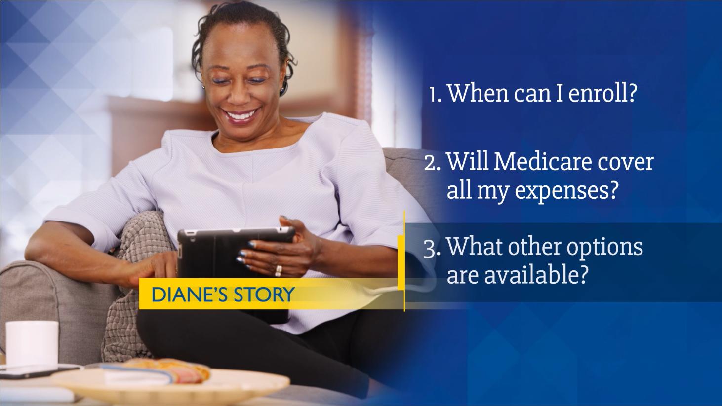 Diane sharing her medicare story.